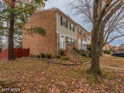 Falls Church Townhouse For Sale: 2816 Hyson Lane