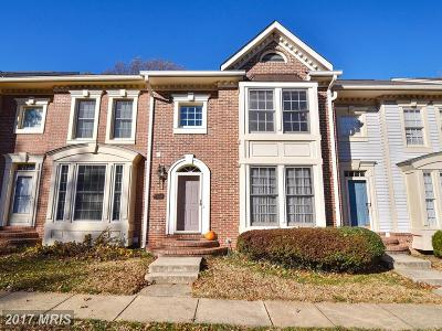 Fairfax Townhouse For Sale: 3908 Valley Ridge Drive