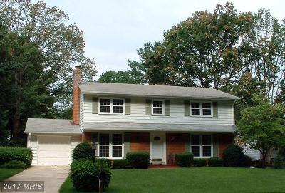 Vienna Single Family Home For Sale: 1704 Burning Tree Drive