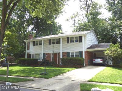 Springfield Single Family Home For Sale: 9209 Setter Place