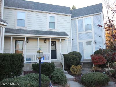 Kingstowne Townhouse For Sale: 5832 Wescott Hills Way