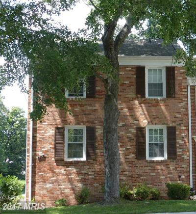 Springfield Townhouse For Sale: 7715 Durer Court