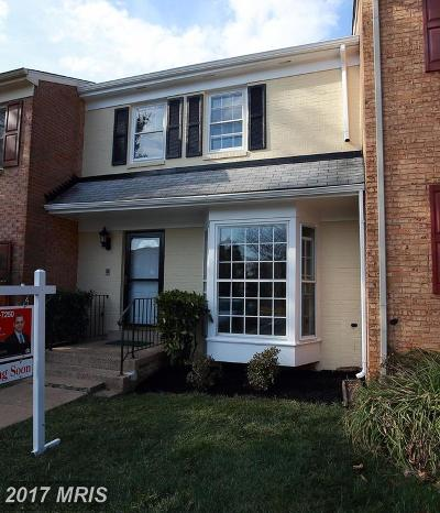 Annandale VA Townhouse For Sale: $420,000