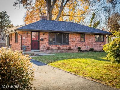 Alexandria Single Family Home For Sale: 7918 Wellington Road