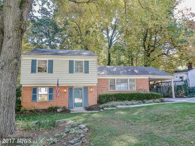 Springfield Single Family Home For Sale: 6107 Dominican Drive