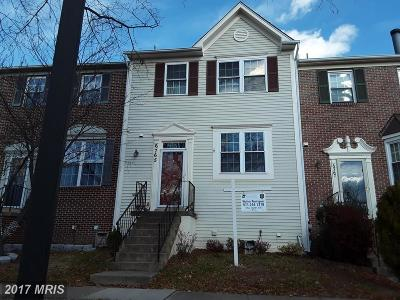 Centreville VA Townhouse For Sale: $354,900