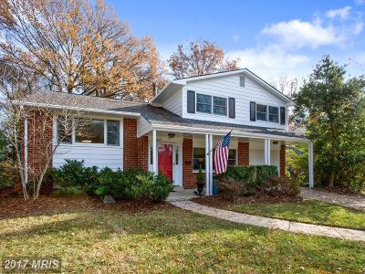 Alexandria Single Family Home For Sale: 8807 Battery Road