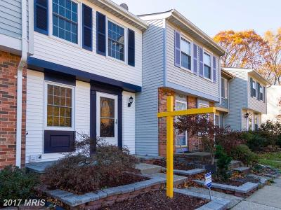 Springfield Townhouse For Sale: 8030 Grandview Court