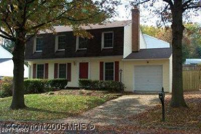 Burke Single Family Home For Sale: 6112 Wilmington Drive