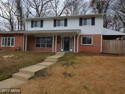 Springfield Single Family Home For Sale: 8520 Lancashire Drive