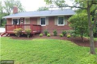 Annandale Single Family Home For Sale: 4915 Bristow Drive