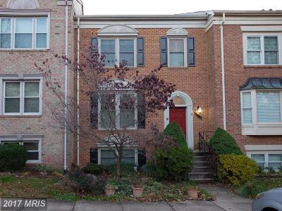 Centreville Townhouse For Sale: 5123 Winding Woods Drive