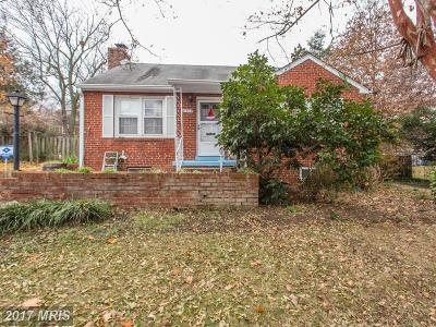 Alexandria Single Family Home For Sale: 6412 Pickett Street