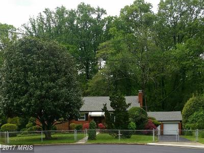 Falls Church VA Single Family Home For Sale: $755,000