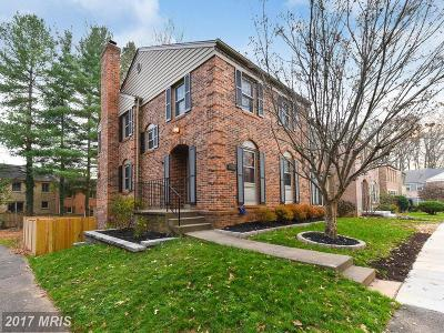 Fairfax Townhouse For Sale: 10301 Hampshire Green Avenue