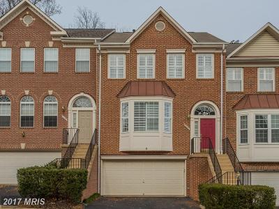 Fairfax Townhouse For Sale: 5620 Governors Pond Circle