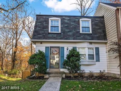Fairfax Townhouse For Sale: 3021 Silent Valley Drive