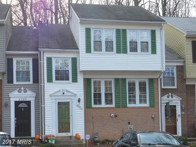 Springfield Townhouse For Sale: 8391 Uxbridge Court