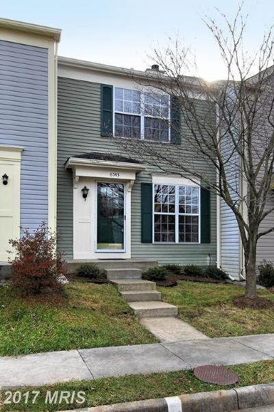 Alexandria Townhouse For Sale: 6543 Old Carriage Drive
