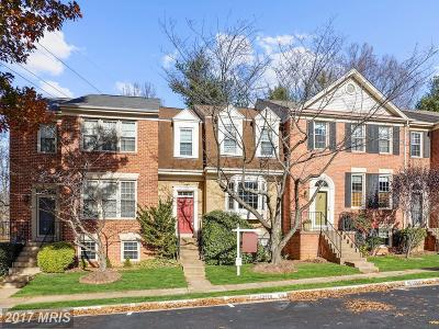 Fairfax Townhouse For Sale: 12322 Fox Lake Place