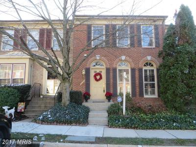 Alexandria VA Townhouse For Sale: $462,500