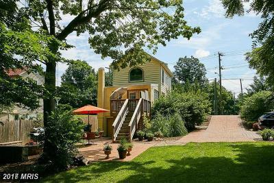 Falls Church VA Single Family Home For Sale: $450,000