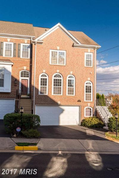 Alexandria Townhouse For Sale: 3378 Governors Crest Court