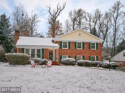 Falls Church VA Single Family Home For Sale: $800,000