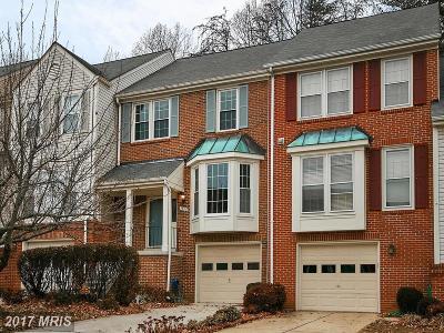 Springfield Townhouse For Sale: 7389 Hidden Knolls