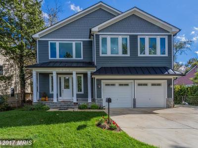 Falls Church VA Single Family Home For Sale: $1,325,000