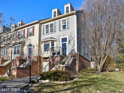 Springfield Townhouse For Sale: 8720 Stone Hill Place