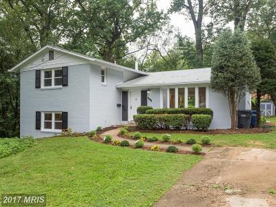 Annandale Single Family Home For Sale: 6711 Capstan Drive