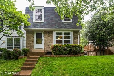 Townhouse Sold: 10210 Quiet Pond Terrace