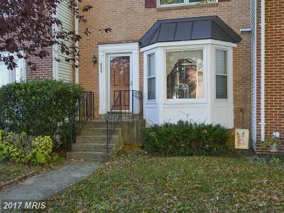 Fairfax Townhouse For Sale: 8005 Sky Blue Drive