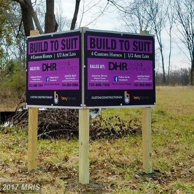 Fairfax Single Family Home For Sale: 9723 Maury Road