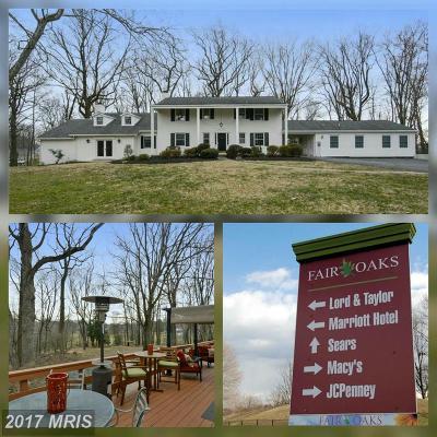 Fairfax VA Single Family Home For Sale: $1,200,000