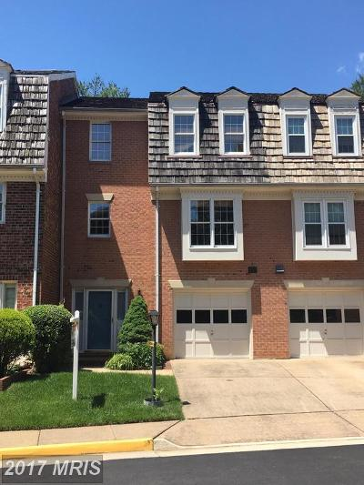 Oakton Townhouse For Sale: 2944 Oakborough Square
