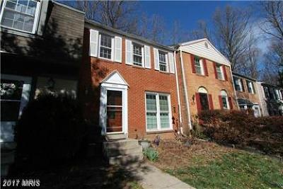 Burke Townhouse For Sale: 9491 Cloverdale Court