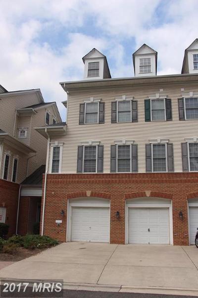 Fairfax, Fairfax City Townhouse For Sale: 8984 Harrover Place #84A