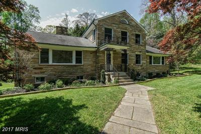 Great Falls Single Family Home For Sale: 959 Millwood Lane