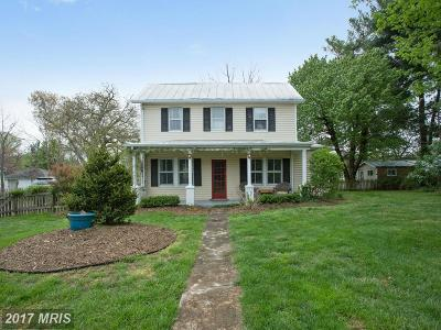 Fairfax Station Single Family Home For Sale: 11107 Fairfax Station Road