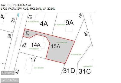Mclean Residential Lots & Land For Sale: 1723 Fairview Avenue