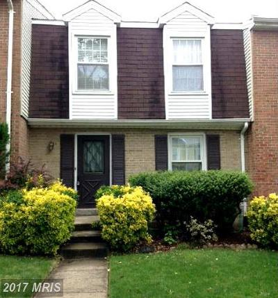 Townhouse For Sale: 6488 Silver Ridge Circle
