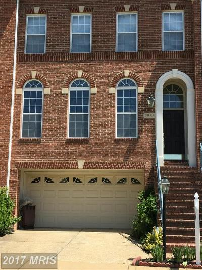 Vienna Townhouse For Sale: 2833 Grace Forest Place