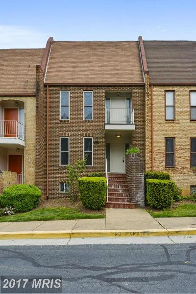 Vienna VA Townhouse For Sale: $725,000