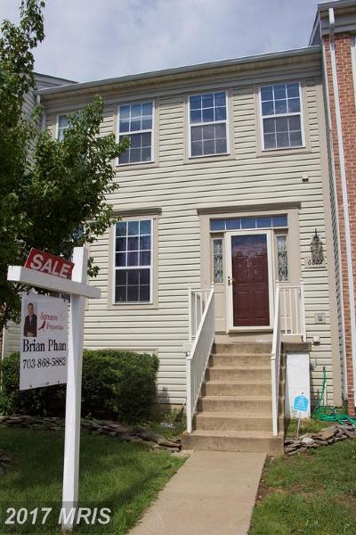 Centreville VA Townhouse For Sale: $399,900