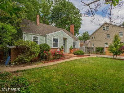 Falls Church Single Family Home For Sale: 3318 Slade Run Drive