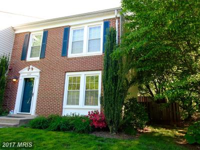 Fairfax Townhouse For Sale: 3891 Mohr Oak Court