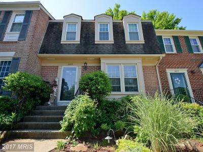 Oakton Townhouse For Sale: 10315 Emerald Rock Drive