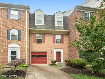 Burke Townhouse For Sale: 6721 Sunset Woods Court